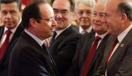 Hollande medef